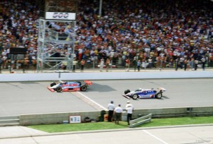10 Greatest Indy Moments Indy Finish © Joe DiMaggio