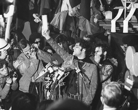 Abbie Hoffman Black Panther Rally at Yale