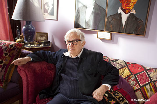 Albert Maysles Home © Joe DiMaggio7580e