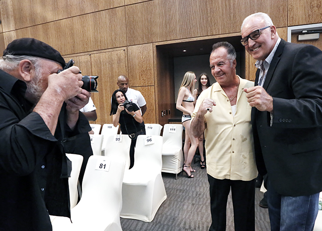 Paulie Walnuts and Gerry Cooney © JoAnne Kalish