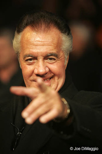 Gatti vs Leija Fight Actor Tony Sirico (Paulie Walnuts Gaultieri from HBO Sopranos)
