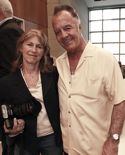 JoAnne Kalish and Paulie Walnuts © Joe DiMaggio